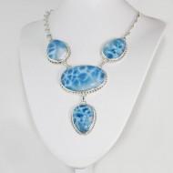 Larimar-Stone Edles XXL Yamir Larimar Luxury Collier 01 9364 1,899.00