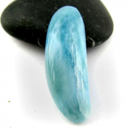 Ларимар без формы кабошон 8926 Larimar-Stone