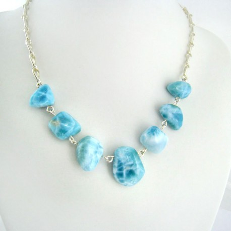 Larimar-Stone Yamir Collier Necklace YB2 9400 289,00 €