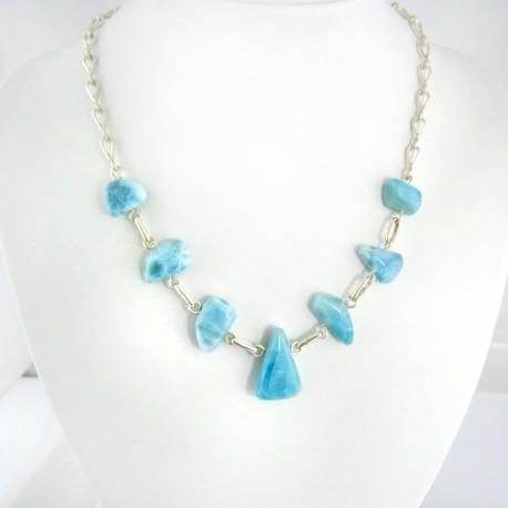 Larimar-Stone Exclusive Yamir Larimar Barock Silber Kette YB3 9401 289,00 €