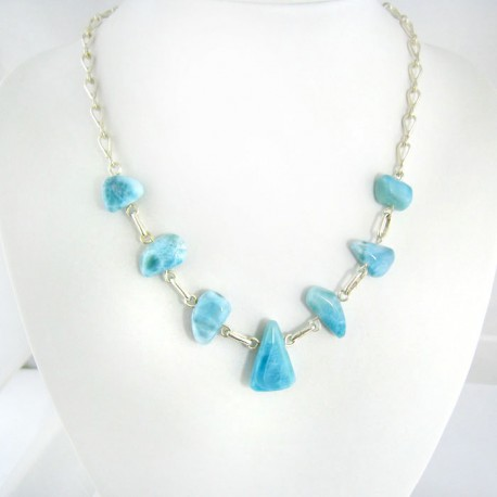 Larimar-Stone Yamir Collier Necklace YB3 9401 289,00 €