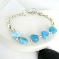 Larimar-Stone Yamir Nugget Silver Bracelet YA2 9404 109,00 €