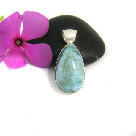 Larimar Golgante Lagrima YT4 9442 Larimar-Stone 39,00 €