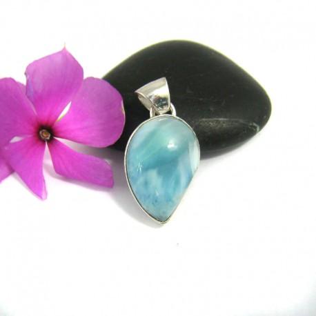 Ларимар kулон свободной форме FR9 9465 Larimar-Stone