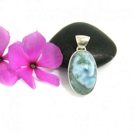 Ларимар ювелирные изделия кулон OV15 9467 Larimar-Stone