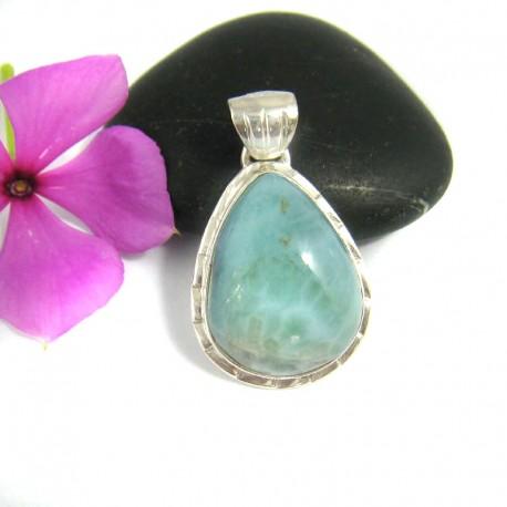 Larimar-Stone Larimar Pendant Drop YT13 9471 39,00 €