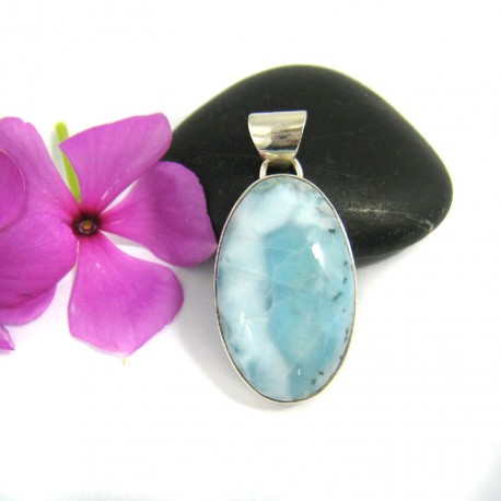 Ларимар ювелирные изделия кулон OV18 9477 Larimar-Stone