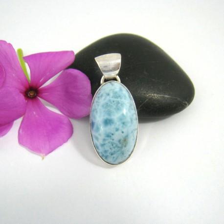 Ларимар ювелирные изделия кулон OV21 9484 Larimar-Stone
