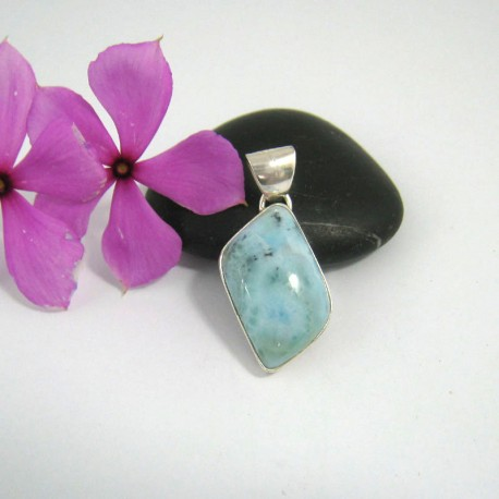 Ларимар kулон свободной форме FR14 9491 Larimar-Stone