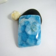 XL Larimar Quadrangle Cabochon VC1 9637 Larimar-Stone 169,00 €
