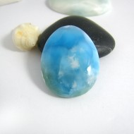 Larimar Drop Cabochon TC1