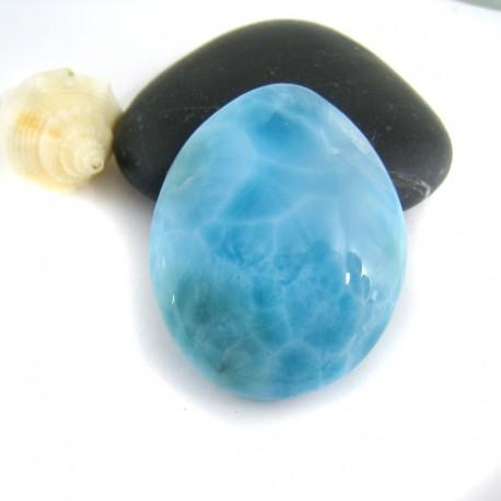 Larimar-Stone Larimar Tropfen Cabochon TC3 9648 59,90 €
