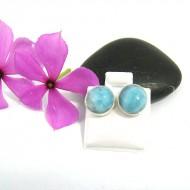 Larimar-Stone Larimar Earrings Round OR2 9510 22,99 €