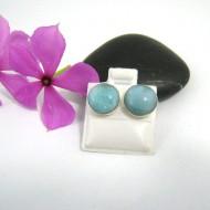 Larimar-Stone Larimar Earrings Round OR3 9511 22,99 €