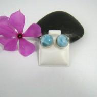 Larimar-Stone Larimar Earrings Round OR14 9523 29,99 €