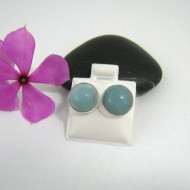 Larimar Earrings Round OR16