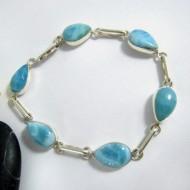 Larimar-Stone Yamir Armband 6 fach Tropfen 9744 89,00 €