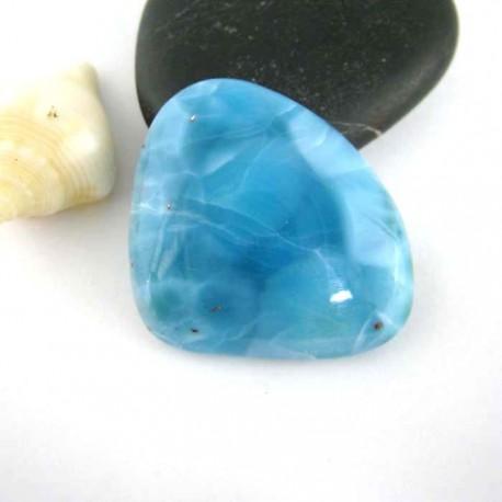 Ларимар без формы кабошон 9292 Larimar-Stone