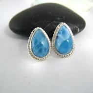 Larimar-Stone Larimar Earrings Drop OT1 9700 49,00 €