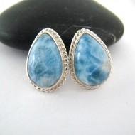 Larimar-Stone Larimar Earrings Drop OT2 9701 59,00 €