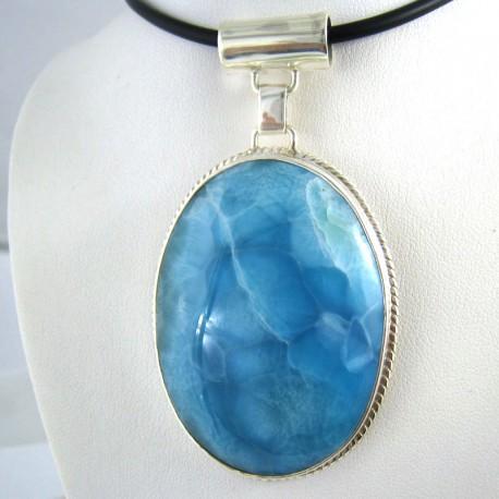 XXL Yamir Luxury Pendentif Ovale YO1 9753 Larimar-Stone 299,00 €
