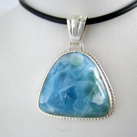 Ларимар kулон свободной форме FR28 9771 Larimar-Stone