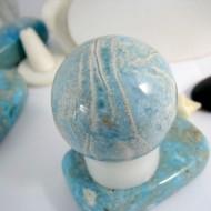 Larimar-Stone LARIMAR Stunning ball bead 171g 9872 599,90 €