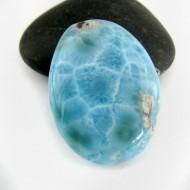 Ларимар овальный кабошон 8974 Larimar-Stone