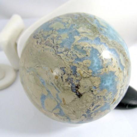 XXXL Потрясающий шариковый шарик 1000g 9956 Larimar-Stone