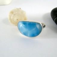 Larimar-Stone Yamir Luxury Ring Freeform 9986 49,00 €