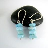 Larimar-Stone Larimar Earrings Nuggets YN1 9994 44,90 €