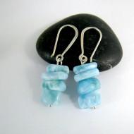 Larimar-Stone Larimar Earrings Nuggets YN3 9996 49,99 €