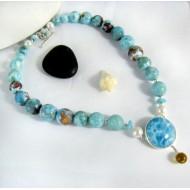 Chaîne de luxe Yamir Larimar YC1b 10003 Larimar-Stone 749,00 €