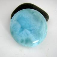 Ларимар круглый кабошон 9016 Larimar-Stone