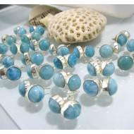 Larimar-Stone Larimar Earrings Sun OR20 10238 29,90 €