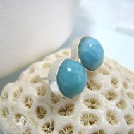 Larimar-Stone Larimar Earrings Round OR22 10240 39,00 €