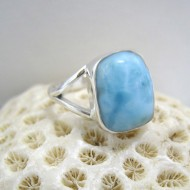 Ларимар Ювелирное кольцо без формы YF9 10077 Larimar-Stone