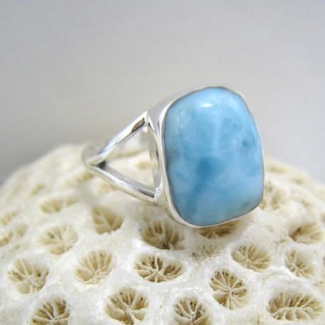 Larimar-Stone Yamir Larimar Ring Freeform YF9 10077 39,90 €