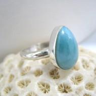 Ларимар Ювелирное кольцо YT2 10078 Larimar-Stone