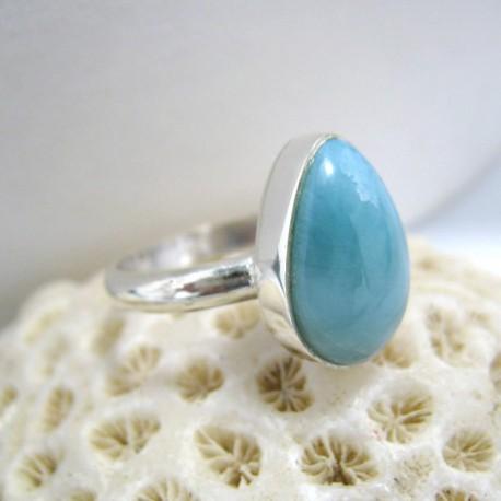 Larimar-Stone Larimar Ring Tropfen YT2 10078 39,90 €