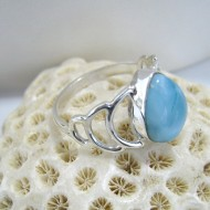 Ларимар Ювелирное кольцо Ava YT3 10136 Larimar-Stone