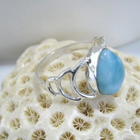 Larimar-Stone Larimar Ring Ava Tropfen YT3 10136 49,90 €