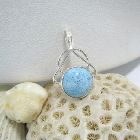 Larimar-Stone Larimar Pendant Round Mila 03 10205 49,90 €