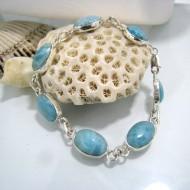 Larimar-Stone Larimar Bracelet Julia 7 Stones LC14 10230 69,00 €
