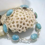 Larimar-Stone Larimar Bracelet Marie 7 Stones LC15 10232 69,00 €