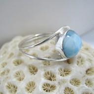 Larimar-Stone Larimar Ring Round EVA LR01 10130 49,00 €