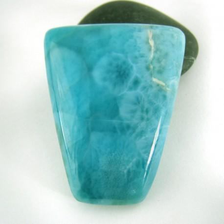 Larimar-Stone Larimar Viereck Cabochon 9039 109,90 €