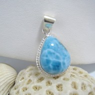 Larimar-Stone Larimar Anhänger Tropfen April AT3 10158 69,90 €