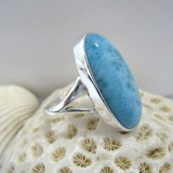Larimar Ring Oval Bey Y11