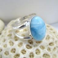 Ларимар Ювелирное кольцо овальный Cim Y14 10122 Larimar-Stone